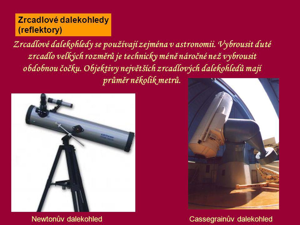 Zrcadlové dalekohledy