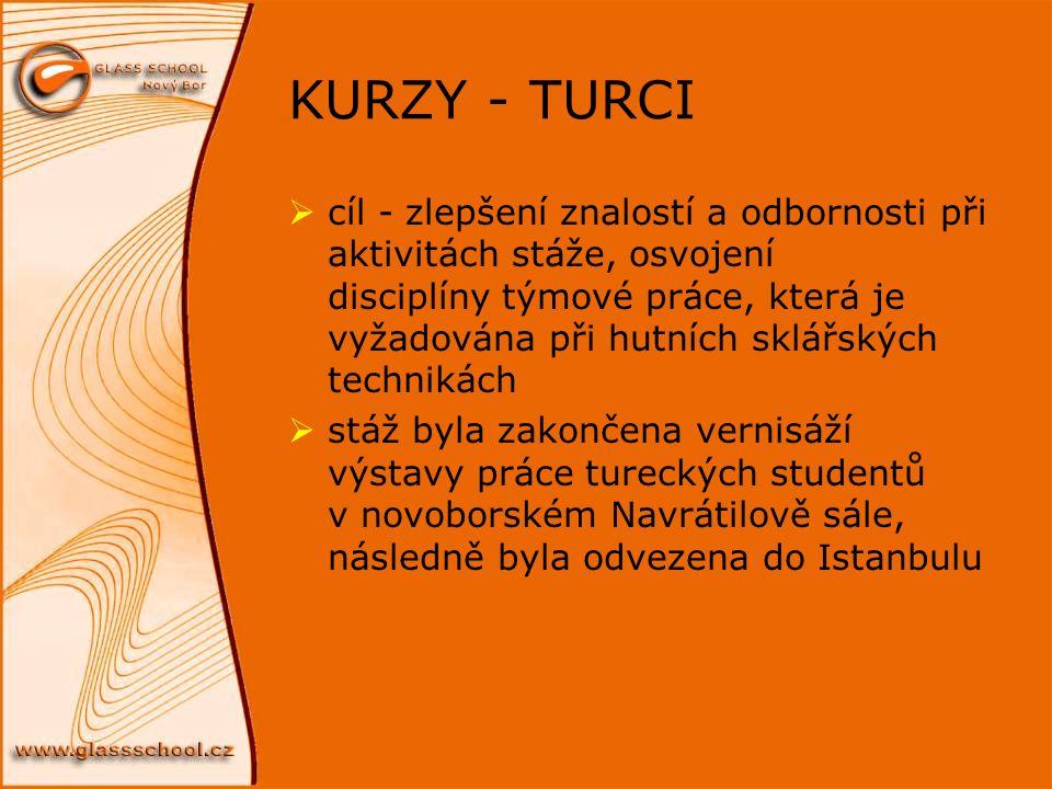 KURZY - TURCI