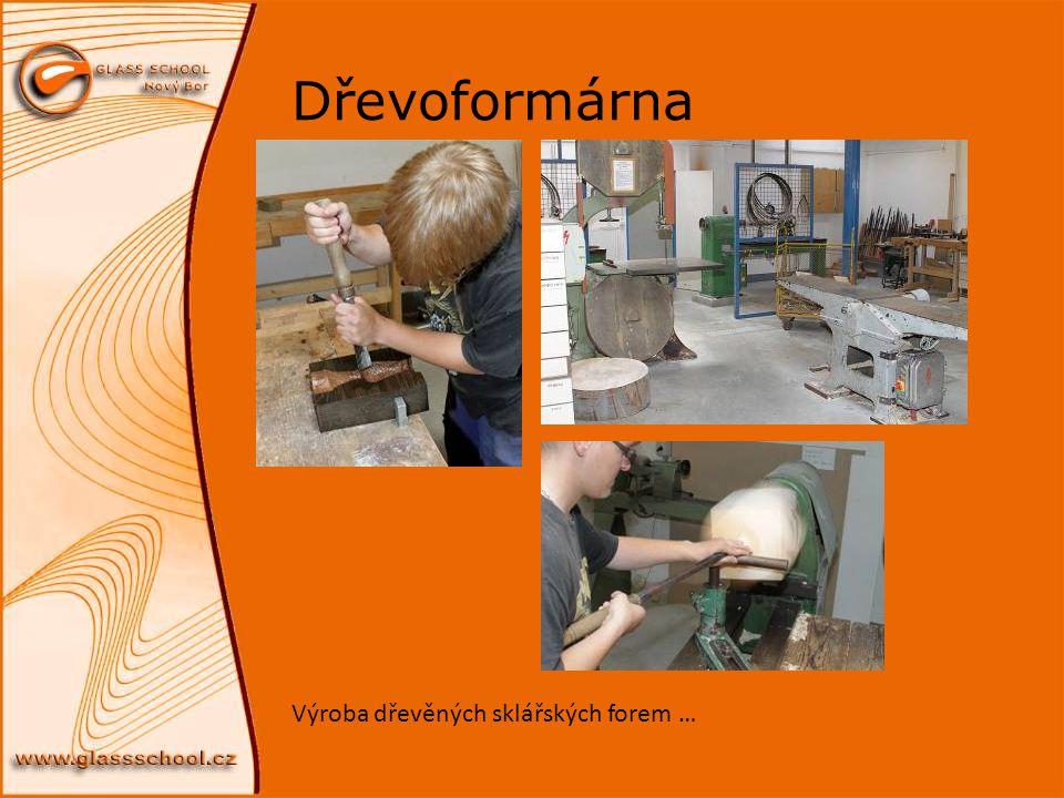 Dřevoformárna Výroba dřevěných sklářských forem …