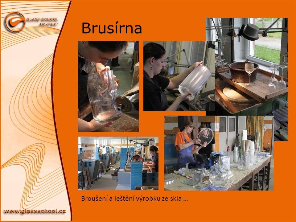 Brusírna Broušení a leštění výrobků ze skla …