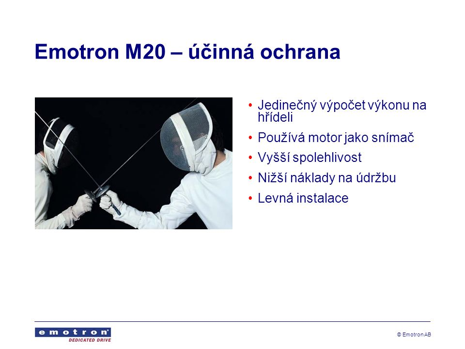 Emotron M20 – účinná ochrana