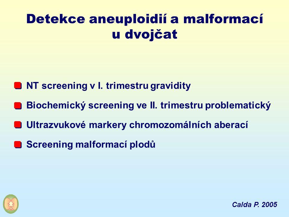Detekce aneuploidií a malformací u dvojčat