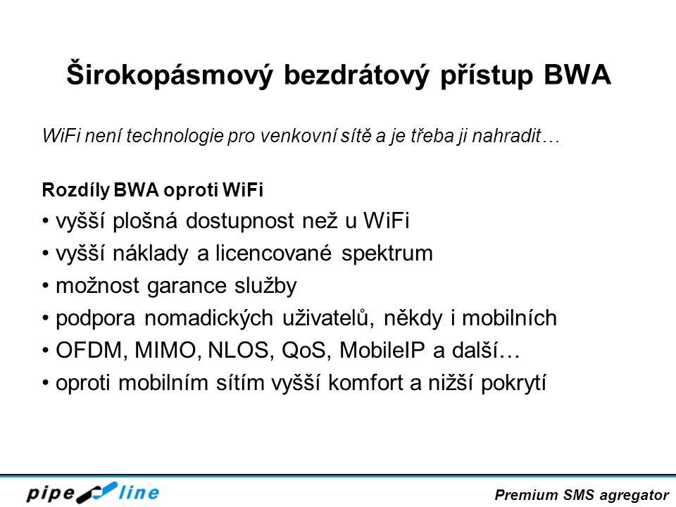 Širokopásmový bezdrátový přístup BWA