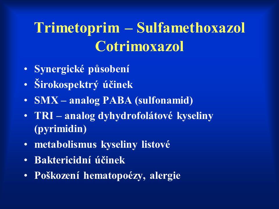Trimetoprim – Sulfamethoxazol Cotrimoxazol