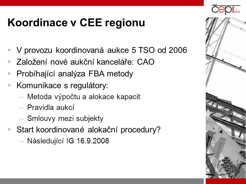 Koordinace v CEE regionu