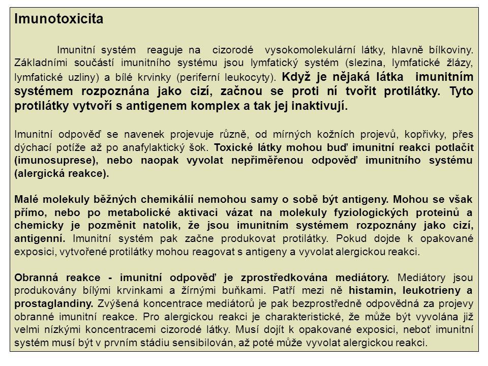 Imunotoxicita
