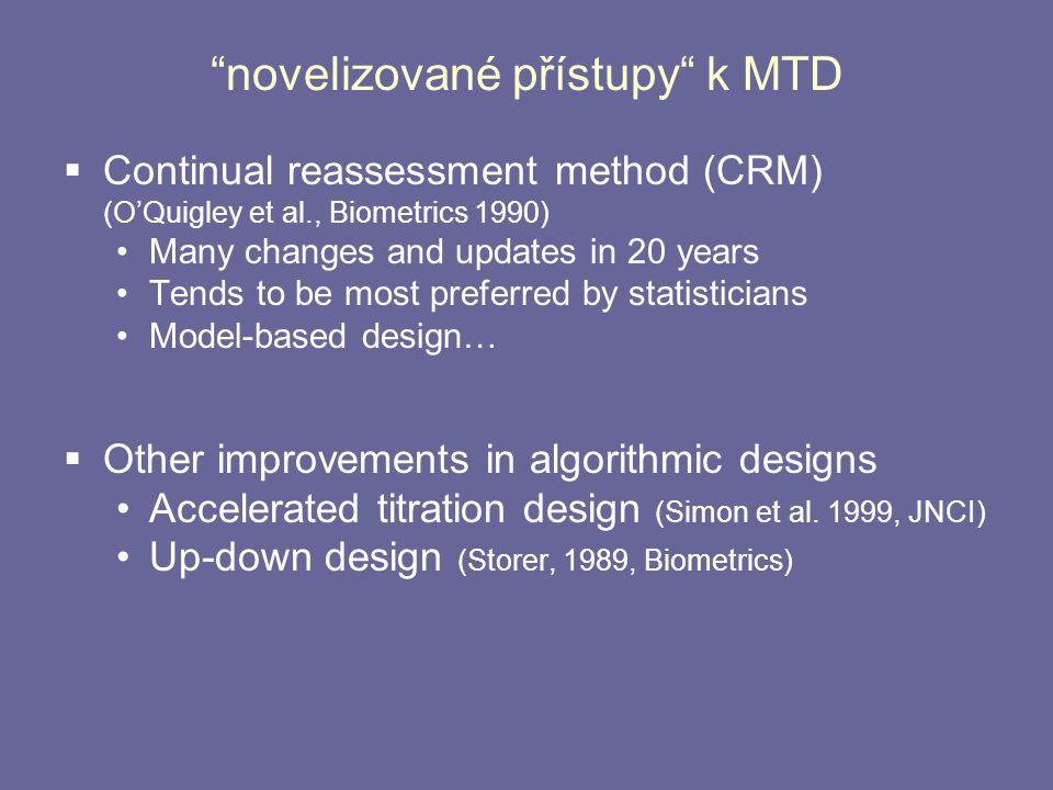 novelizované přístupy k MTD
