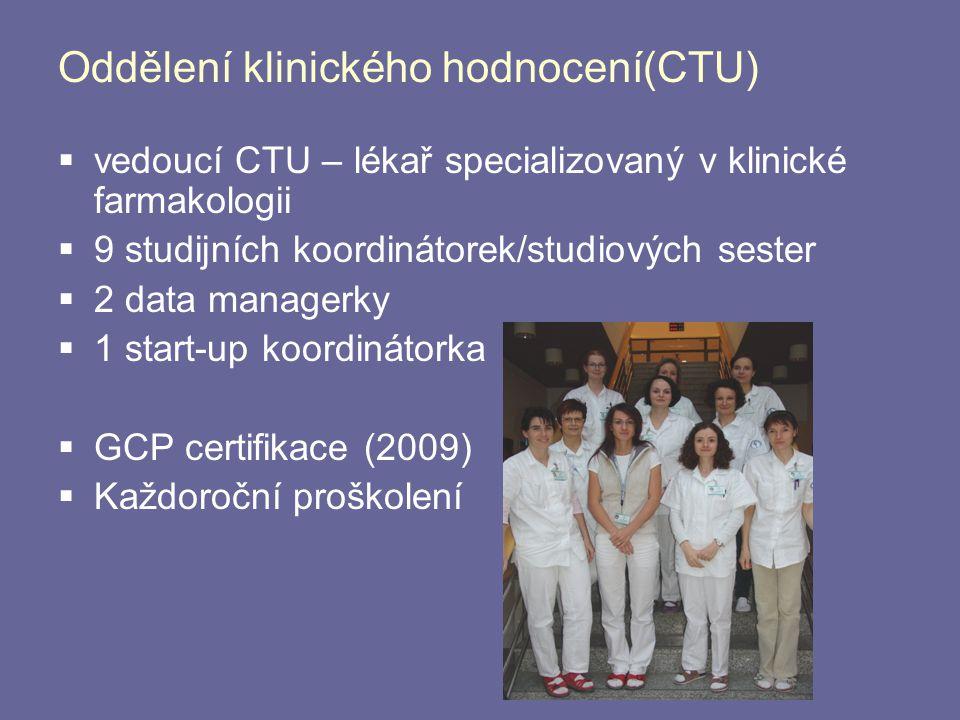 Oddělení klinického hodnocení(CTU)