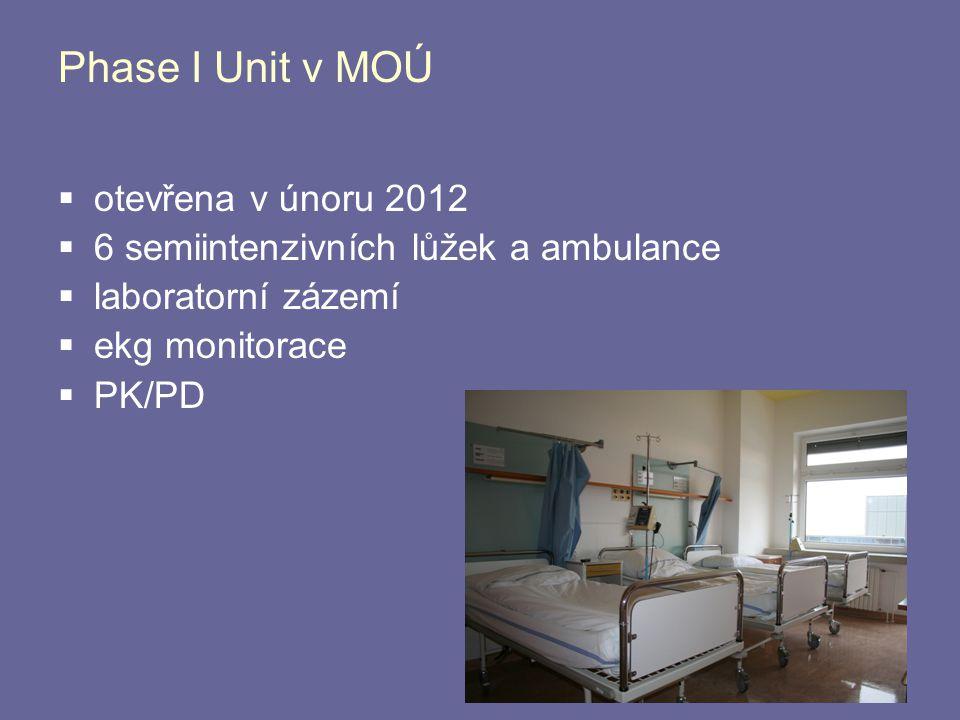 Phase I Unit v MOÚ otevřena v únoru 2012