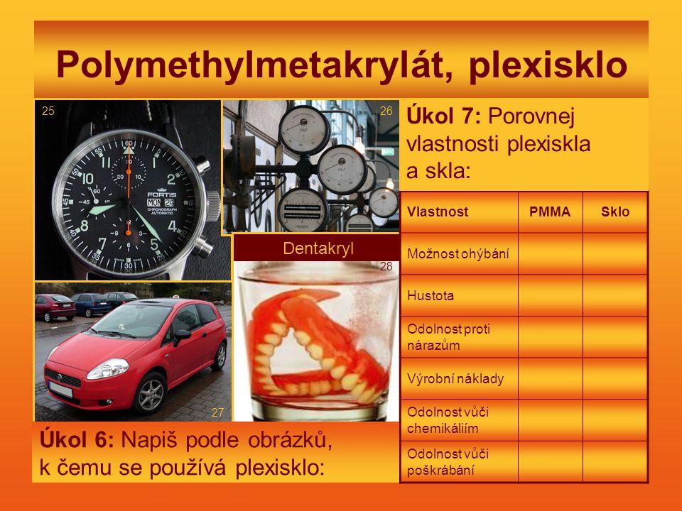 Polymethylmetakrylát, plexisklo