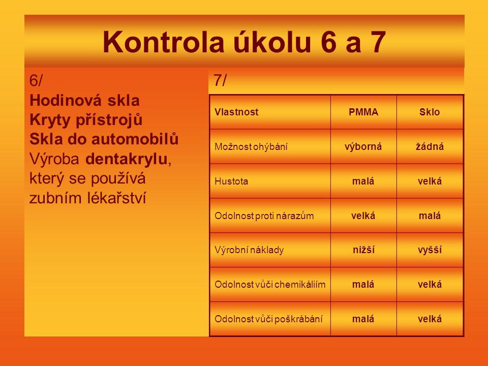 Kontrola úkolu 6 a 7