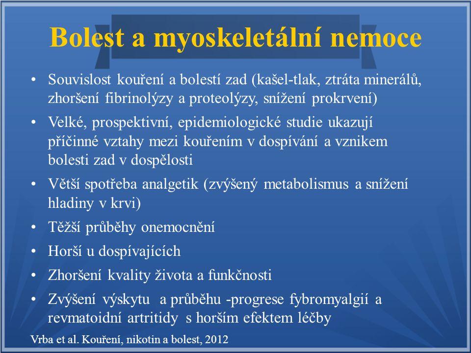 Bolest a myoskeletální nemoce