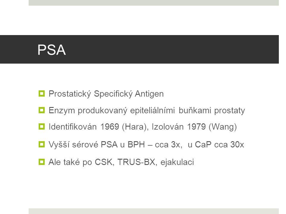 PSA Prostatický Specifický Antigen