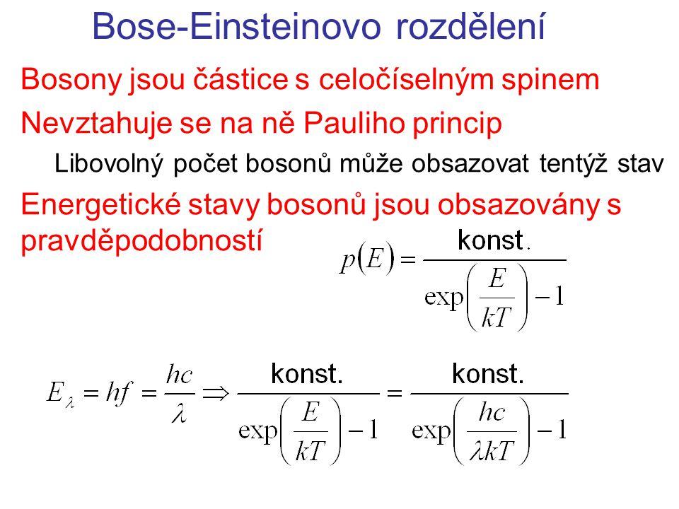 Bose-Einsteinovo rozdělení