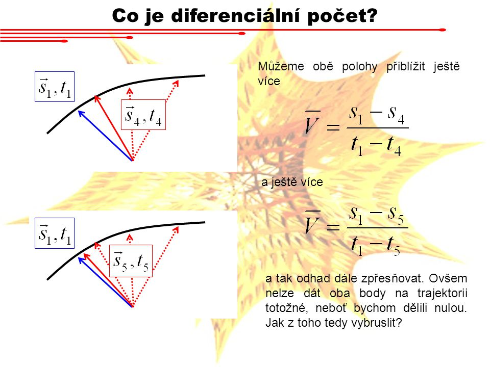 Co je diferenciální počet