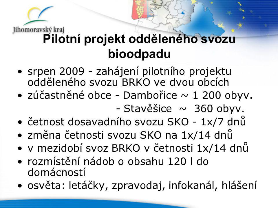 Pilotní projekt odděleného svozu bioodpadu
