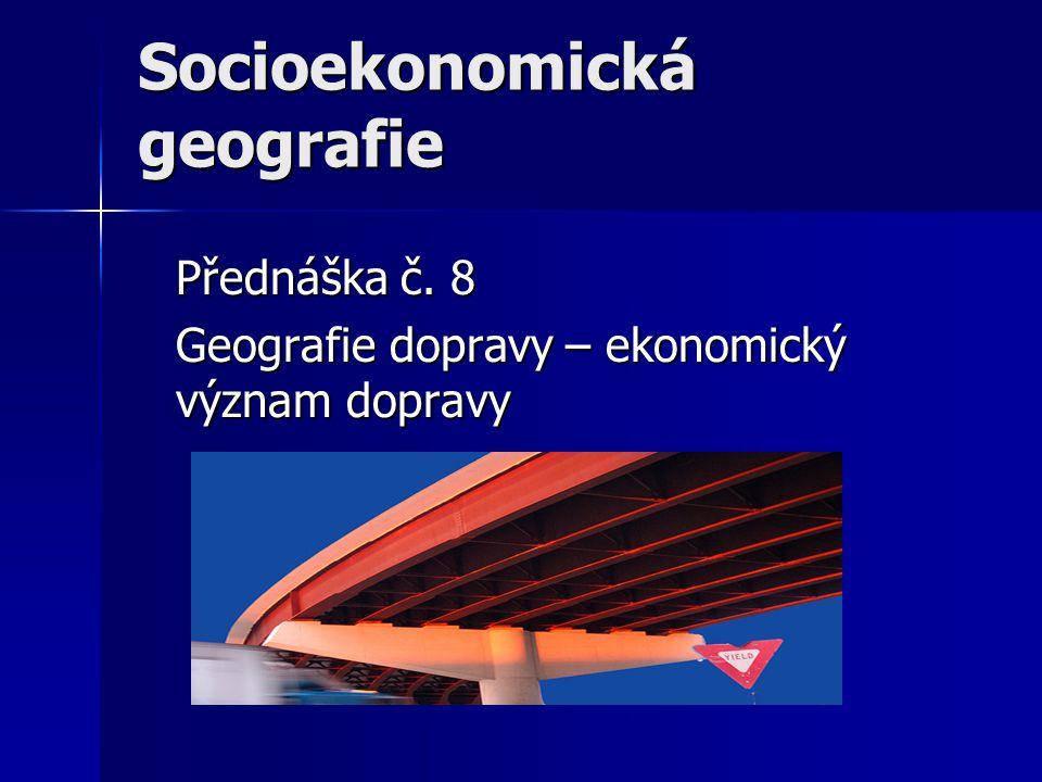 Socioekonomická geografie