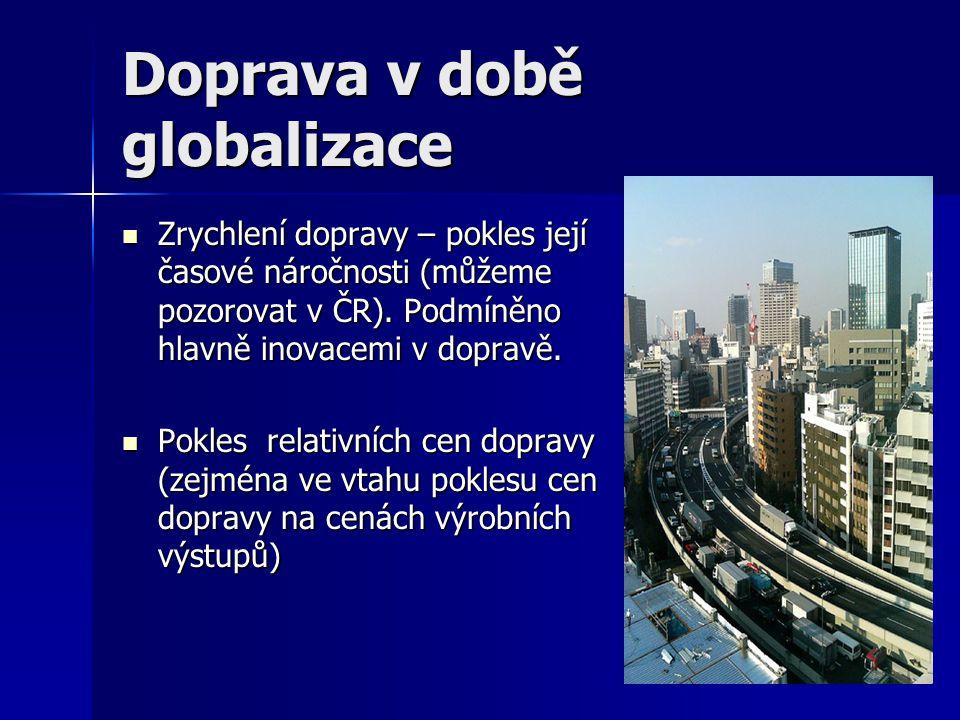 Doprava v době globalizace