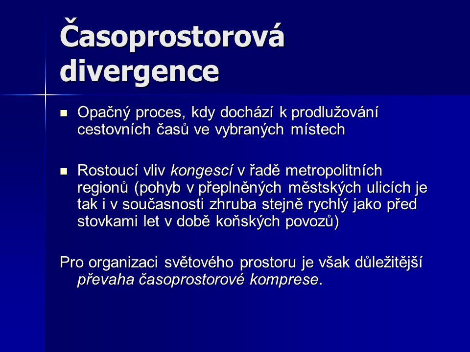 Časoprostorová divergence