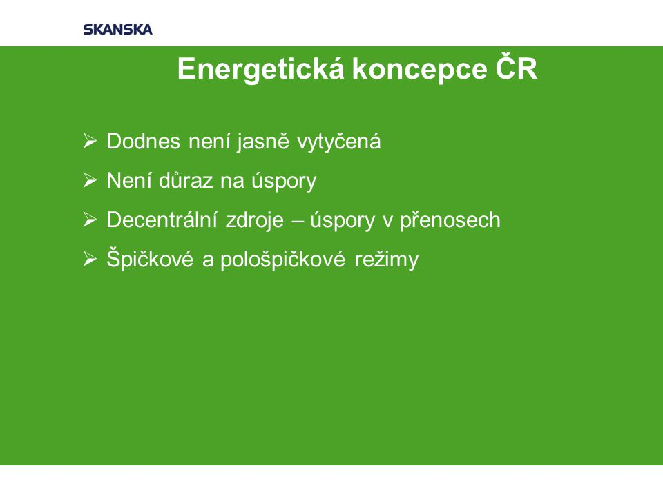 Energetická koncepce ČR