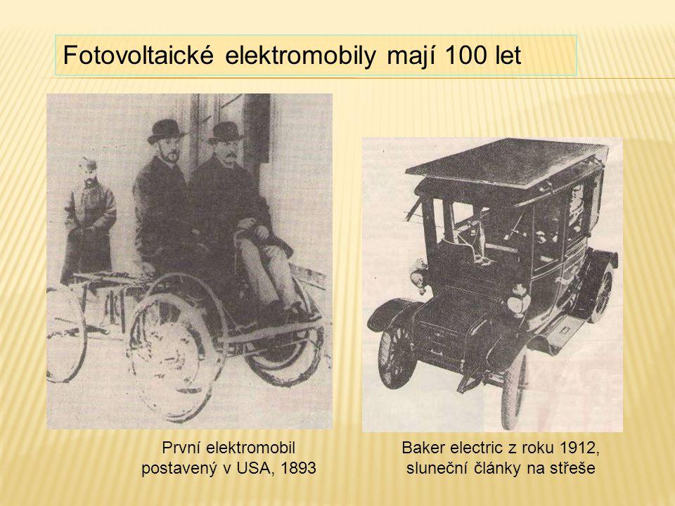 Fotovoltaické elektromobily mají 100 let