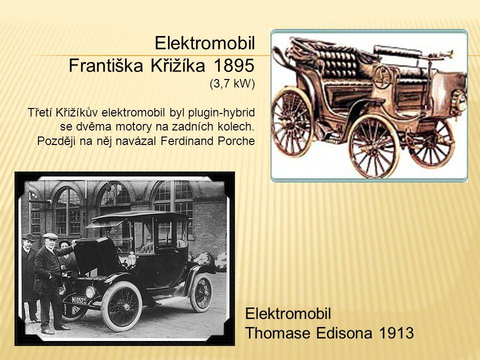 Elektromobil Františka Křižíka 1895