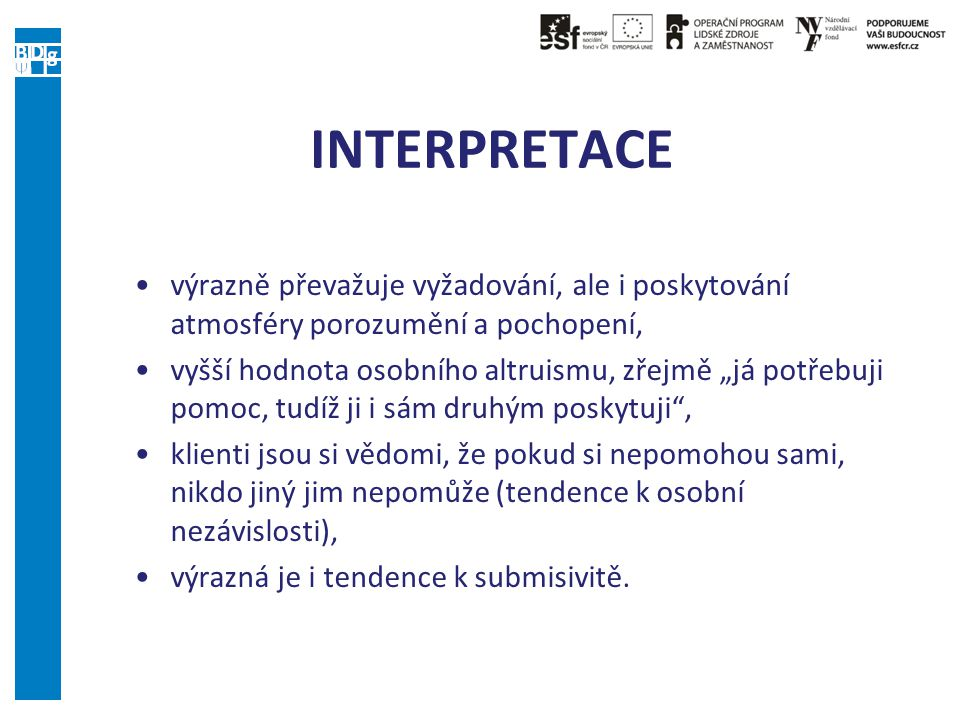 INTERPRETACE INTERPRETATION
