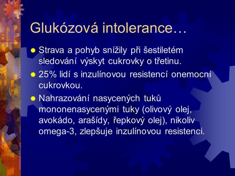 Glukózová intolerance…