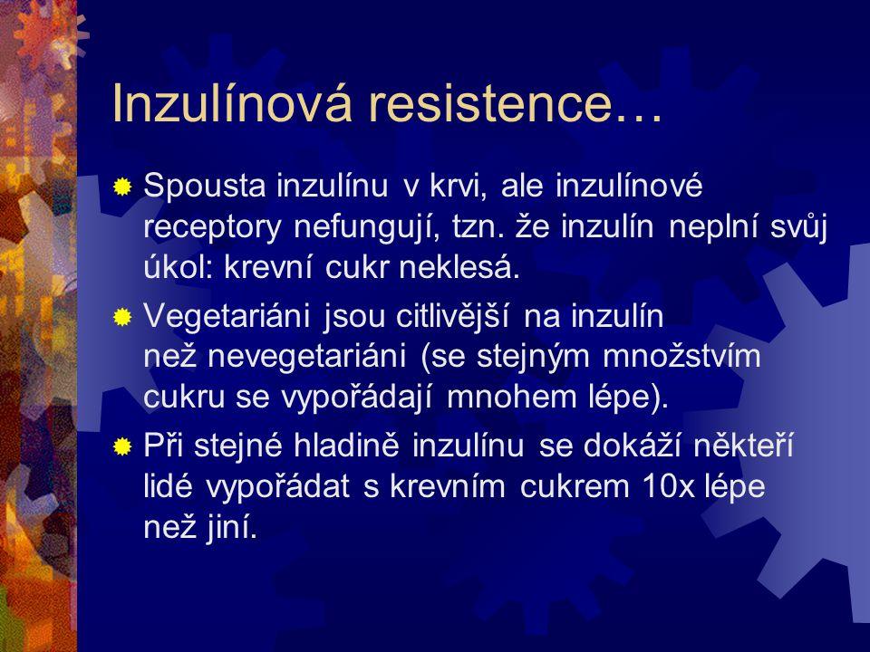 Inzulínová resistence…