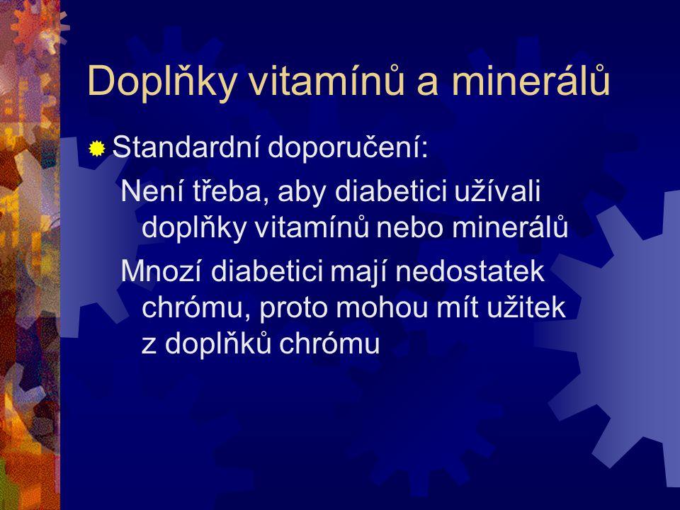 Doplňky vitamínů a minerálů