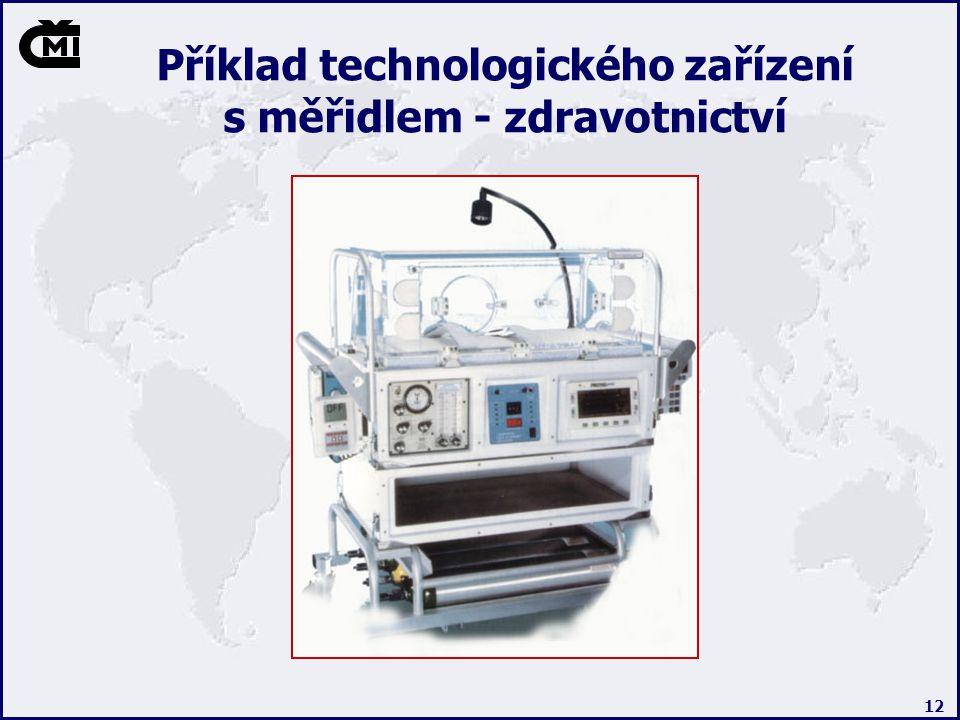 Příklad technologického zařízení s měřidlem - zdravotnictví