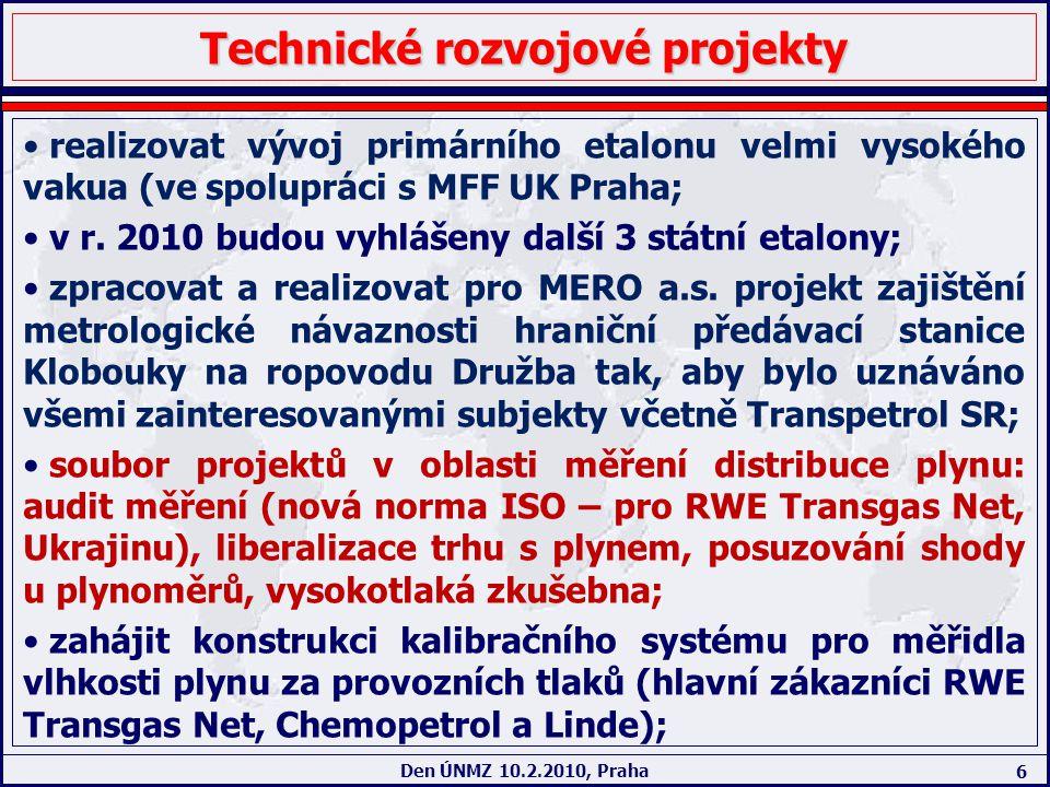 Technické rozvojové projekty