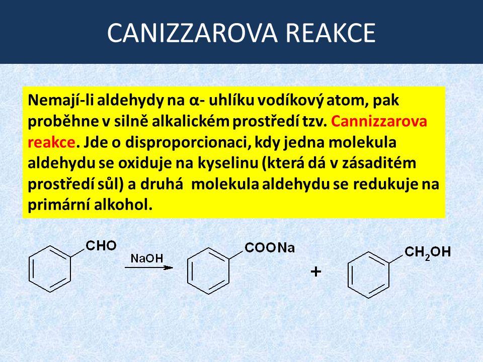 CANIZZAROVA REAKCE