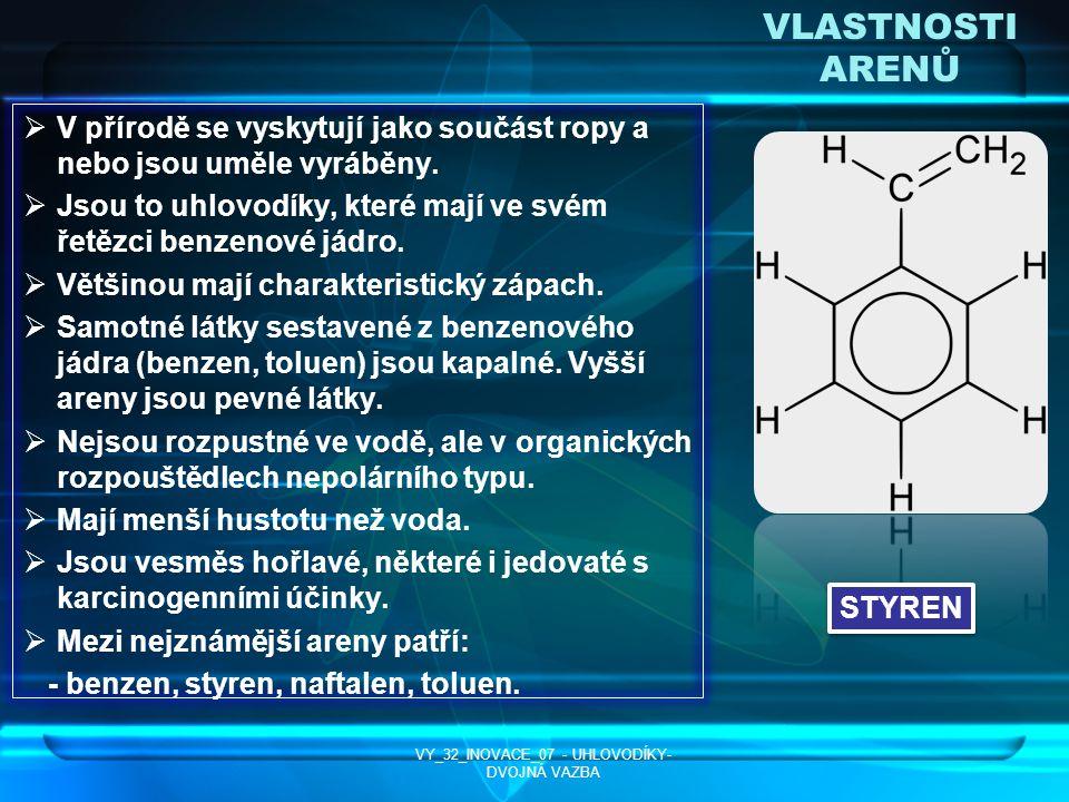 VY_32_INOVACE_07 - UHLOVODÍKY-DVOJNÁ VAZBA