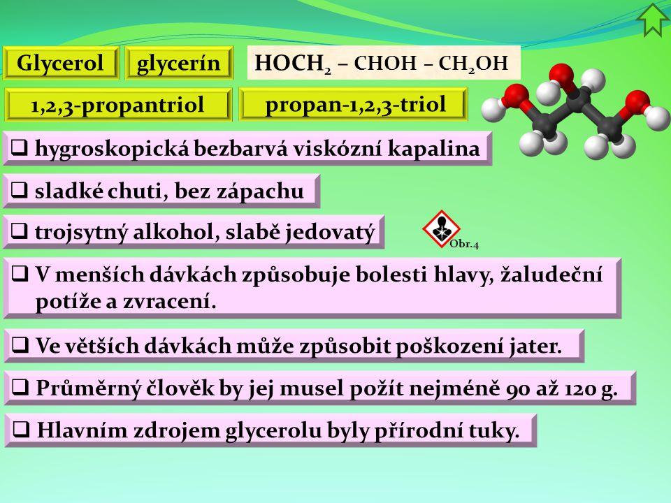 Glycerol glycerín 1,2,3-propantriol
