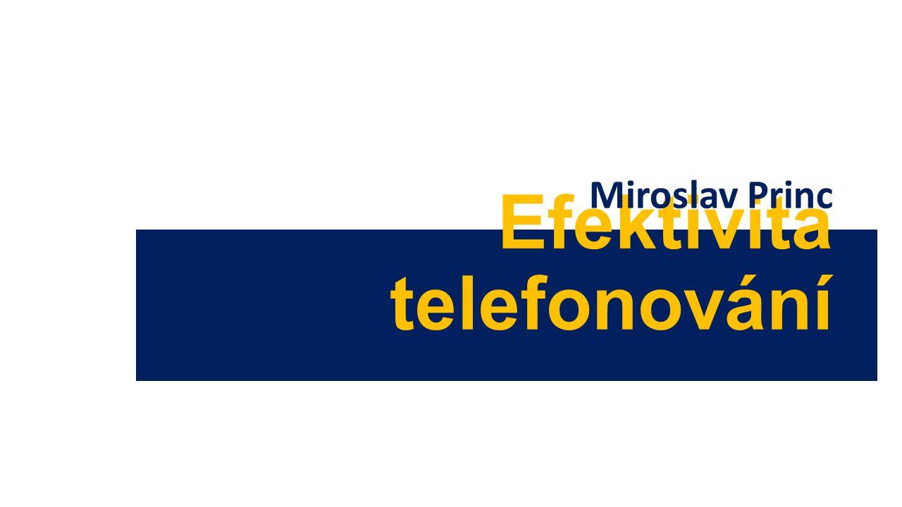 Efektivita telefonování