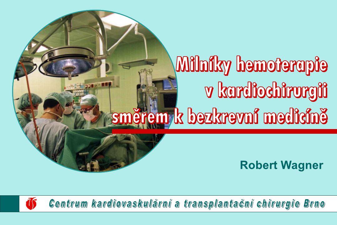 směrem k bezkrevní medicíně