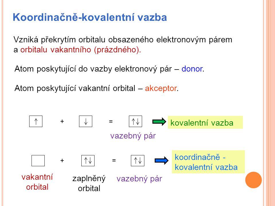 Koordinačně-kovalentní vazba