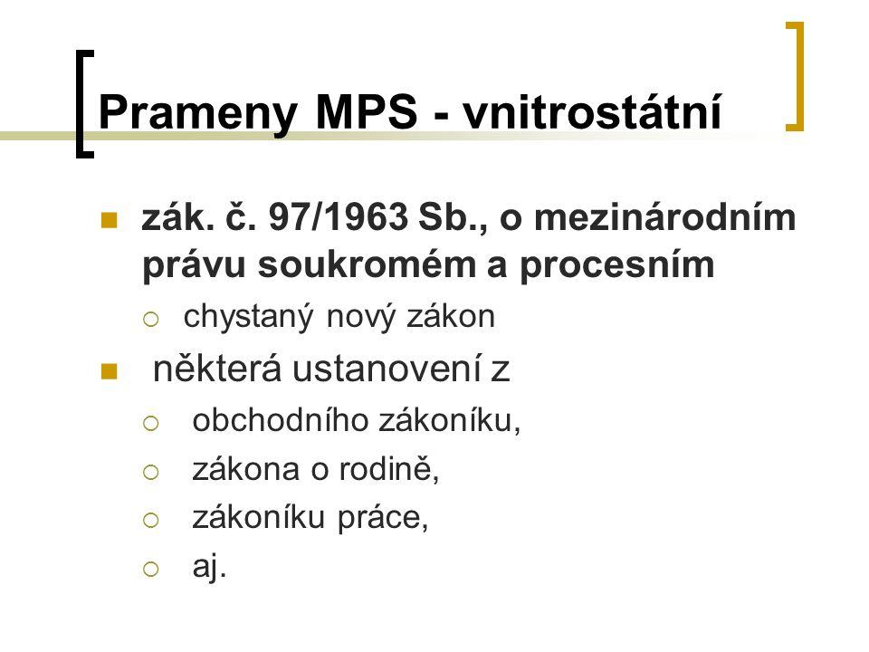 Prameny MPS - vnitrostátní