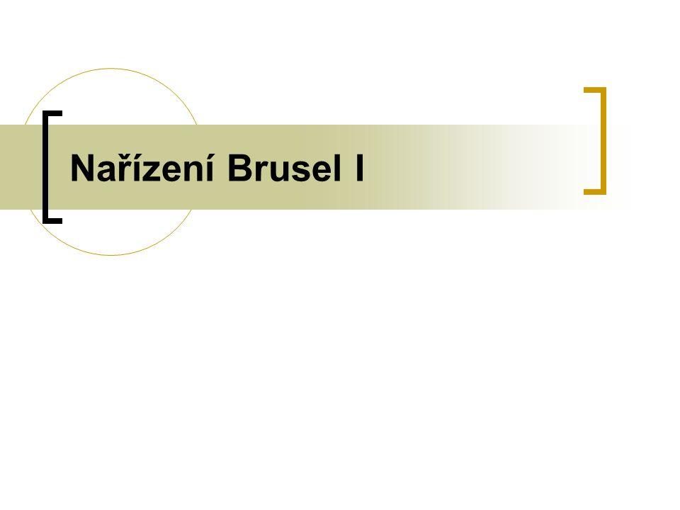 Nařízení Brusel I