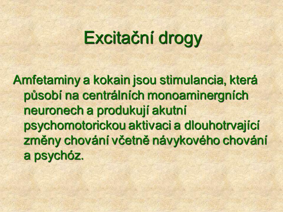 Excitační drogy