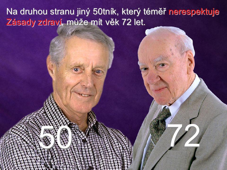 72 50 Na druhou stranu jiný 50tník, který téměř nerespektuje