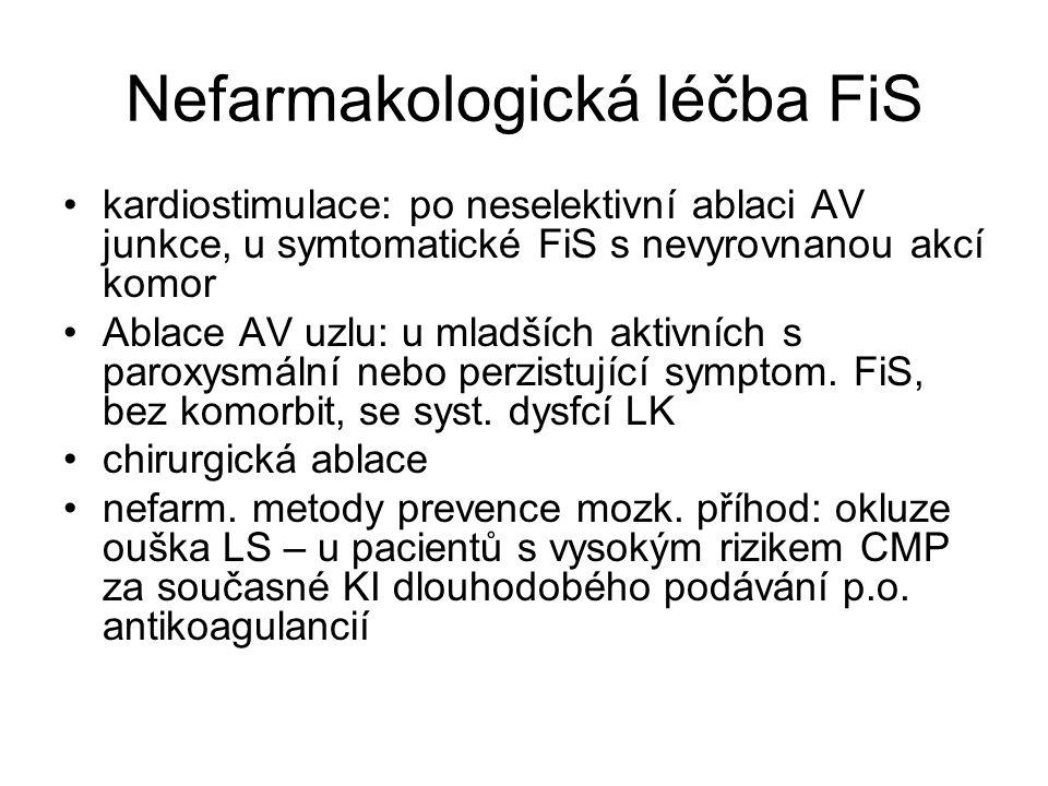 Nefarmakologická léčba FiS