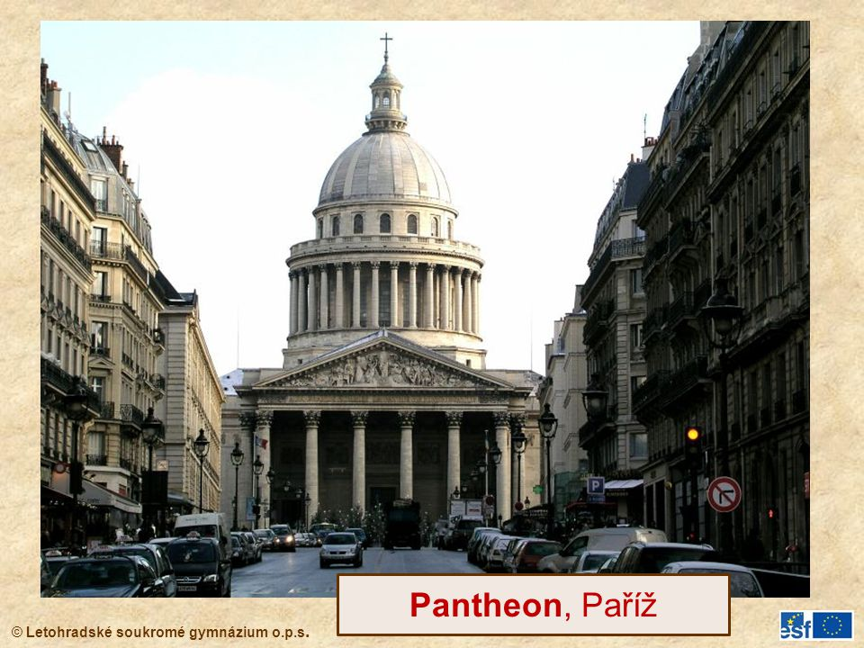Pantheon, Paříž