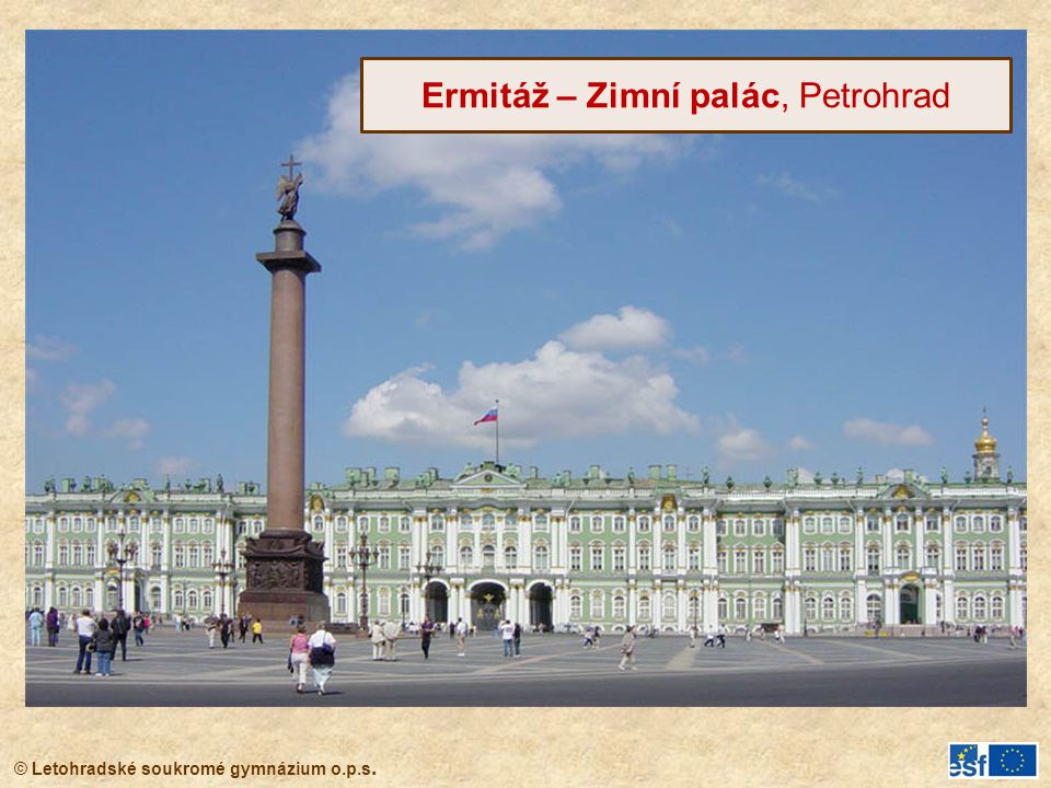Ermitáž – Zimní palác, Petrohrad