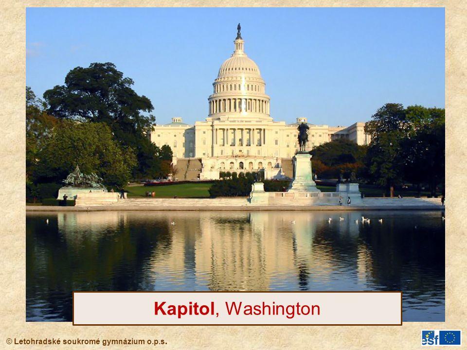 Kapitol, Washington