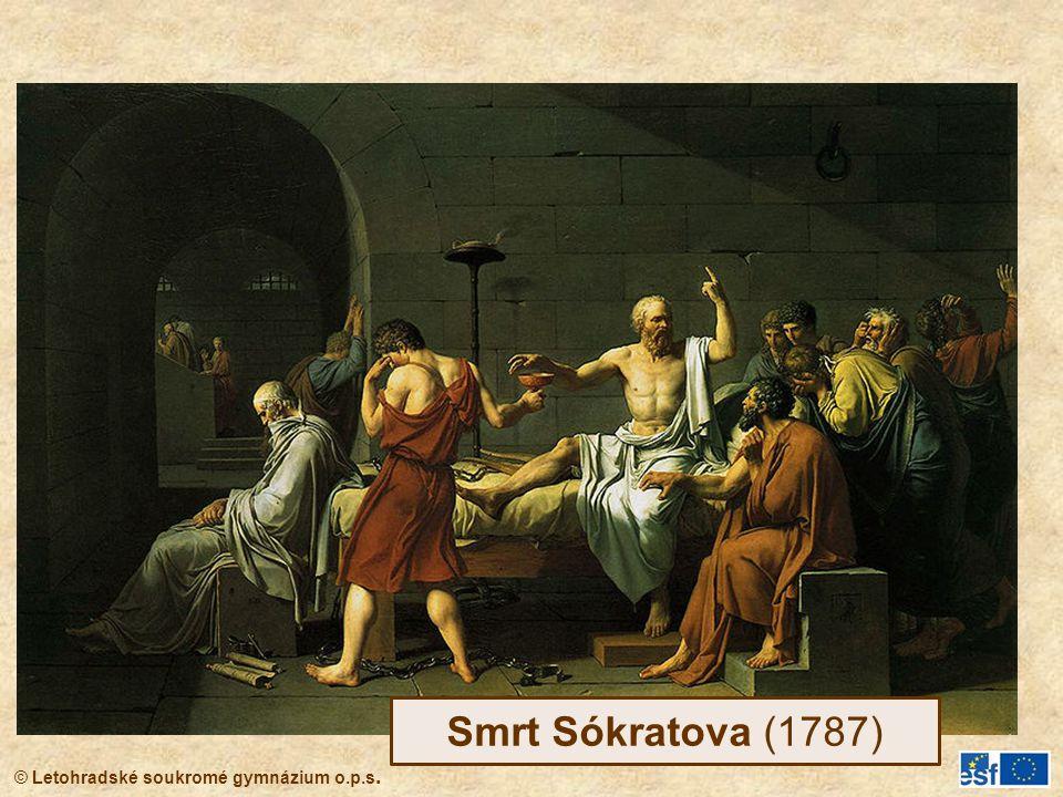 Smrt Sókratova (1787)
