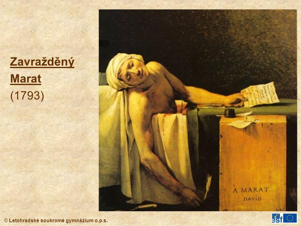 Zavražděný Marat (1793)
