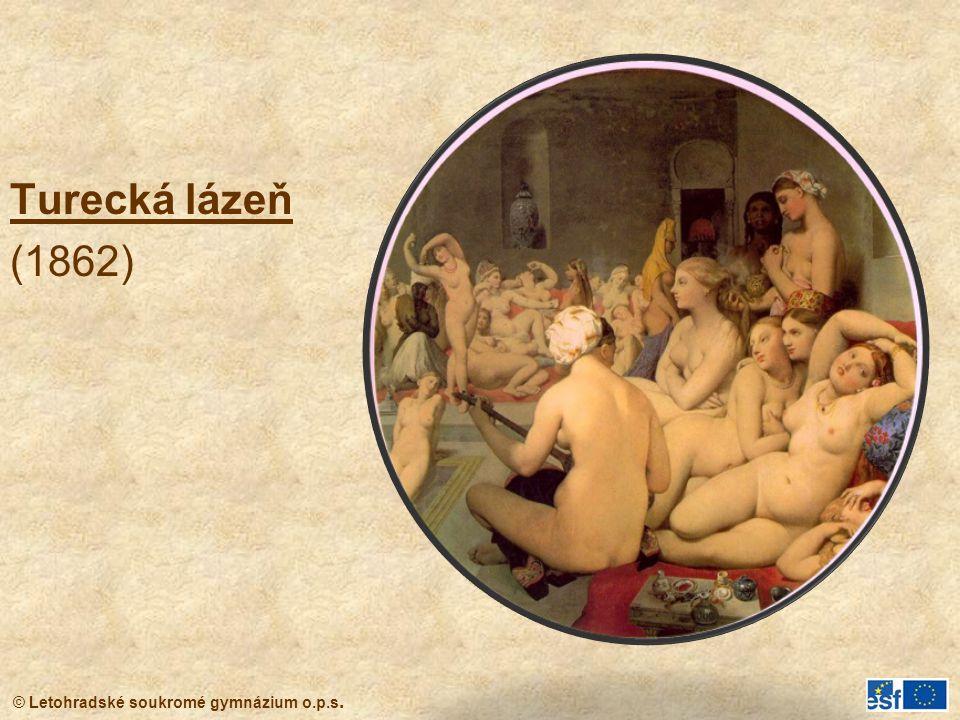 Turecká lázeň (1862)