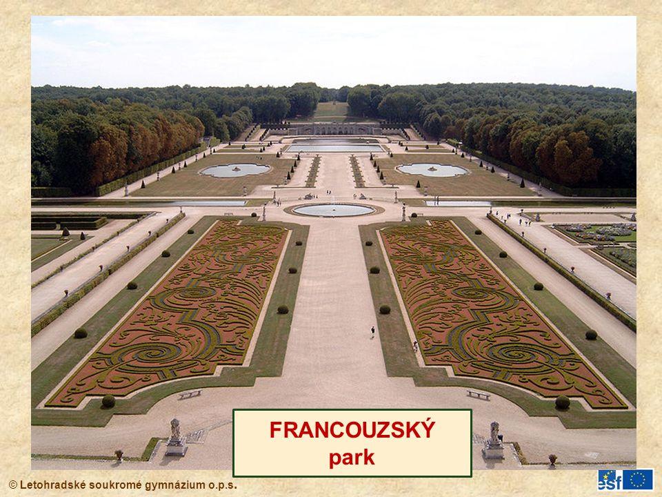 FRANCOUZSKÝ park